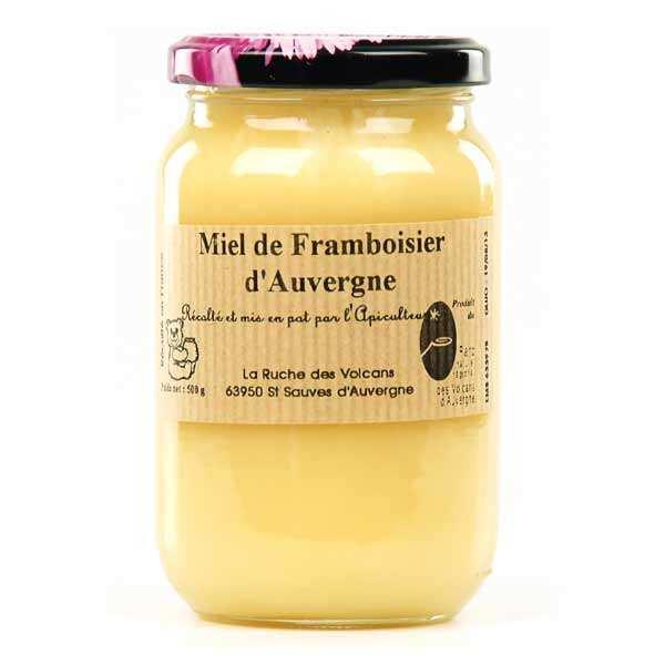 Miel de framboisier d'Auvergne bio
