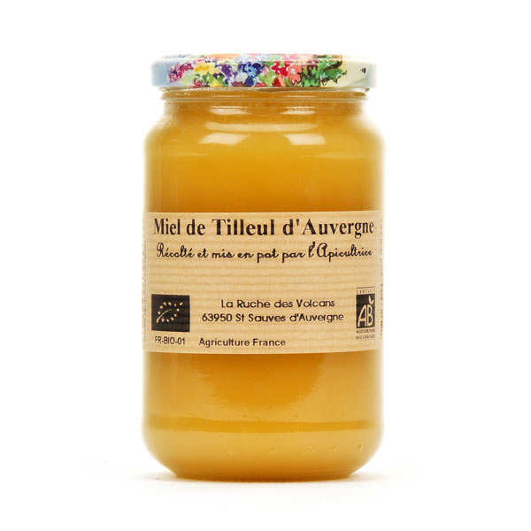 Miel de tilleul d'Auvergne bio