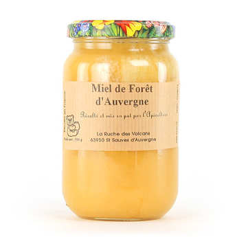La Ruche des Volcans - Forest honey - Organic - From Auvergne