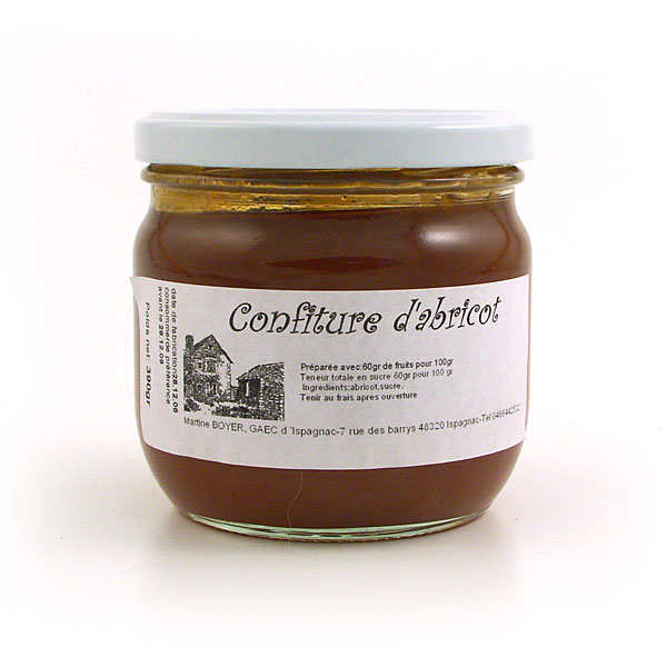 Apricot jam from Lozère