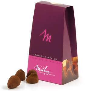 Chocolat Mathez - Truffes fantaisie Marc de Champagne