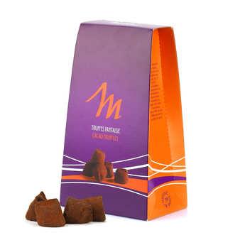 Chocolat Mathez - Truffes fantaisie eclats de caramel au beurre salé