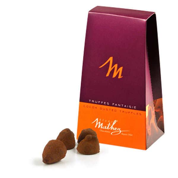 Chocolate Fantaisie Truffles with Candied Orange