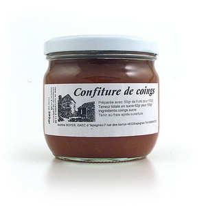 Gaec d'Ispagnac - Martine Boyer - Confiture de coing - Ispagnac (Lozère)