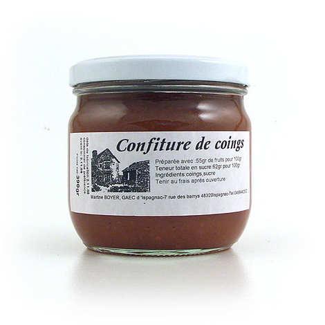 Gaec d'Ispagnac - Martine Boyer - Quince jam jar