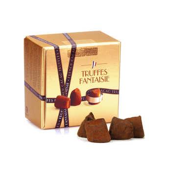 Chocolat Mathez - Truffes fantaisie crêpes dentelles