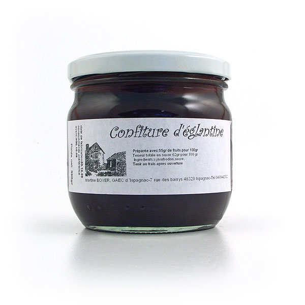 Rosehip Jam in jar