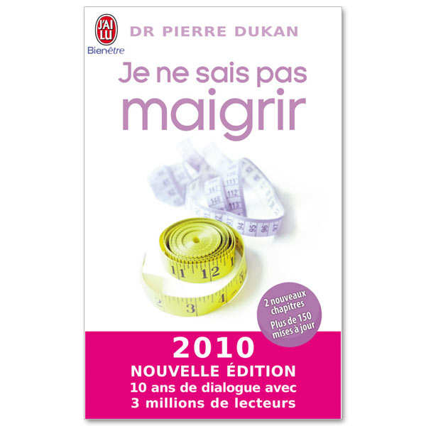 """""""Je ne sais pas maigrir"""" by Pierre Dukan"""