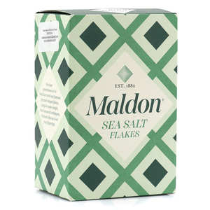 Maldon Crystal Salt - Maldon Sea Salt Flakes