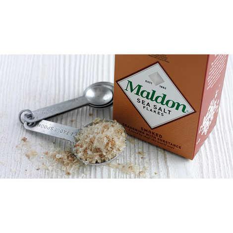 Maldon Crystal Salt - Smoked Maldon sea salt