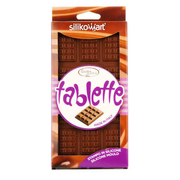 Moule silicone mini tablettes de chocolat silikomart for 1 tablette de chocolat
