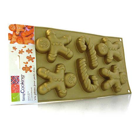 ScrapCooking ® - Gingerbread man moulds