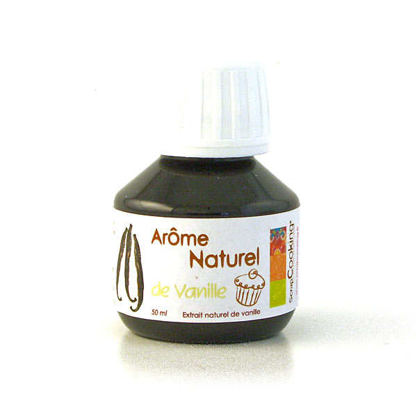 Arôme alimentaire naturel de vanille ScrapCooking®
