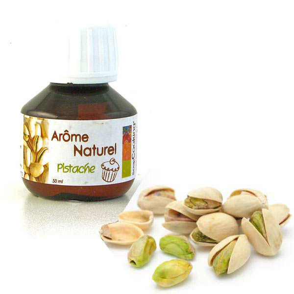 Natural pistachio flavouring - 50ml