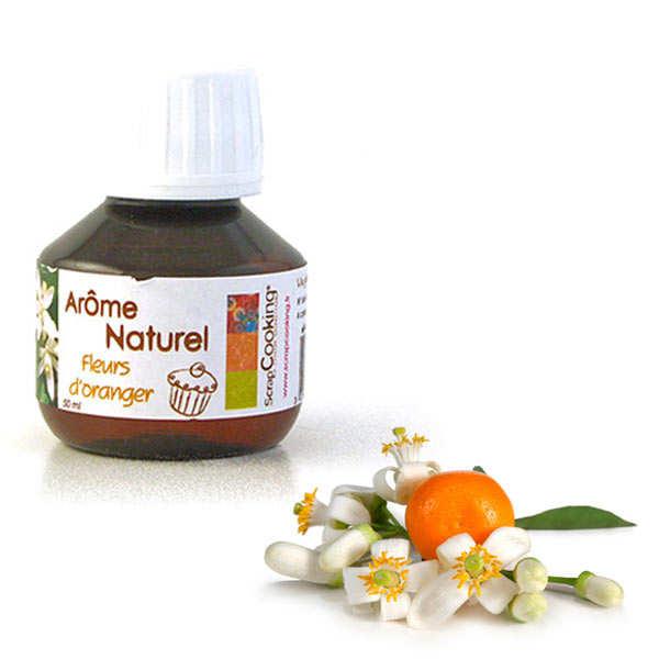 Arôme alimentaire naturel de fleurs d'oranger scrapcooking® - flacon50ml
