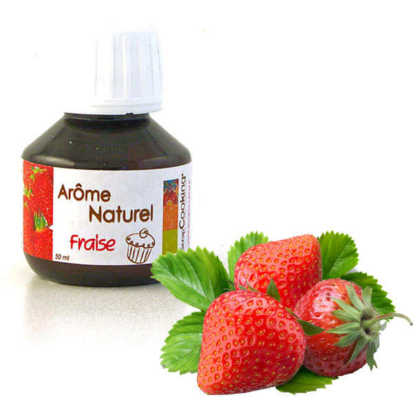Natural strawberry flavouring