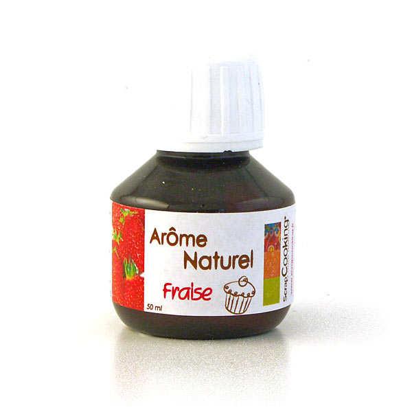 Arôme alimentaire naturel de fraise ScrapCooking®