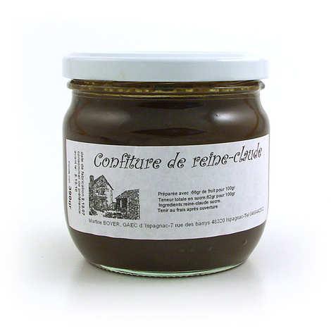 Gaec d'Ispagnac - Martine Boyer - Confiture de Reine-Claude de Lozère