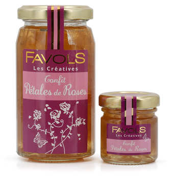 Favols - Rose petal jam jar