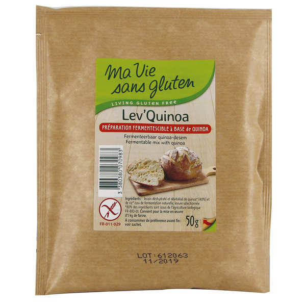 lev 39 quinoa fermentescible pour pain sans gluten ma vie. Black Bedroom Furniture Sets. Home Design Ideas