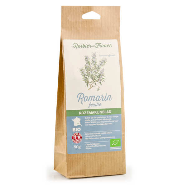 Organic rosemary herbal tea