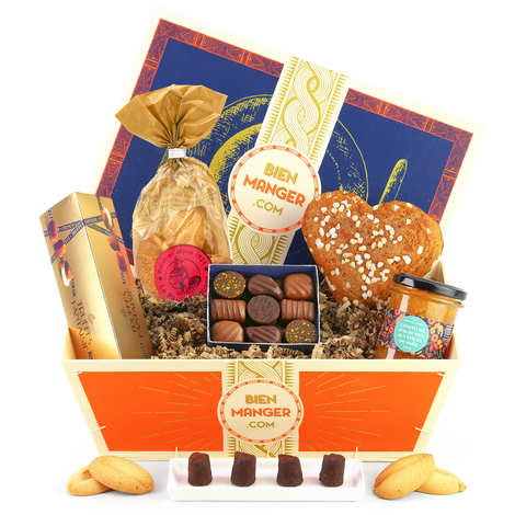 BienManger paniers garnis - Corbeille cadeau Séduction
