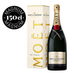 Mo t et chandon brut imp rial magnum champagne mo t et chandon bienmanger - Seau a champagne moet et chandon ...