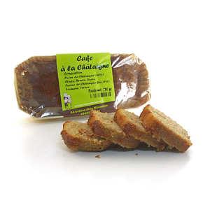 L'atelier du miel et de la châtaigne - Cake à la châtaigne des Cévennes