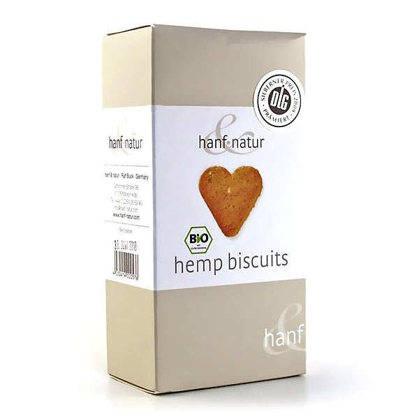 Biscuits bio aux graines et à la farine de chanvre