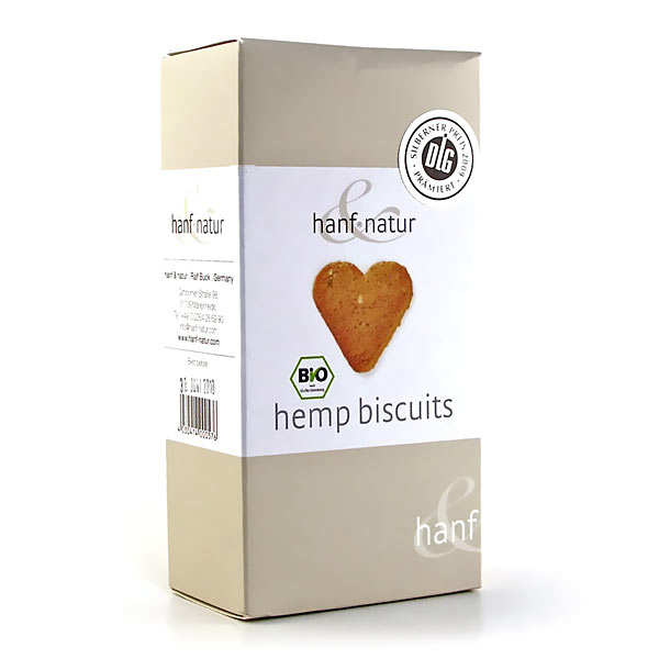 Organic hemp biscuits