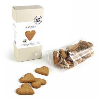 Hanf Natur - Biscuits bio aux graines et à la farine de chanvre