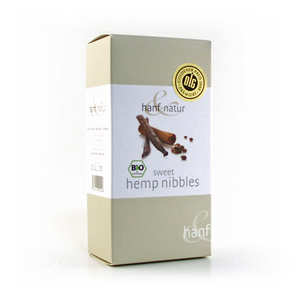 Hanf Natur - Organic vanilla and cinnamon sweet hemp nibbles