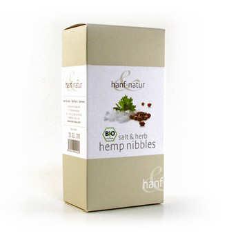 Hanf Natur - Graines de chanvre grillées bio - sel et herbes
