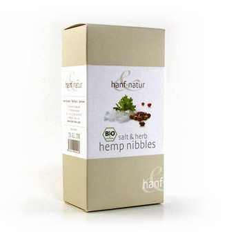 Hanf Natur - Organic salt and herb hemp nibbles