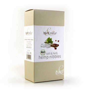 Organic salt and herb hemp nibbles