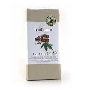 Hanf Natur - Chocolat au lait aux graines de chanvre bio