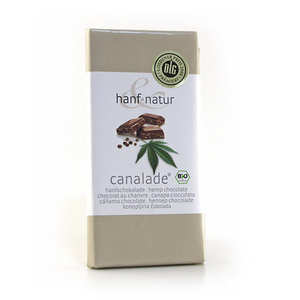 Hanf Natur - Organic hemp milk chocolate