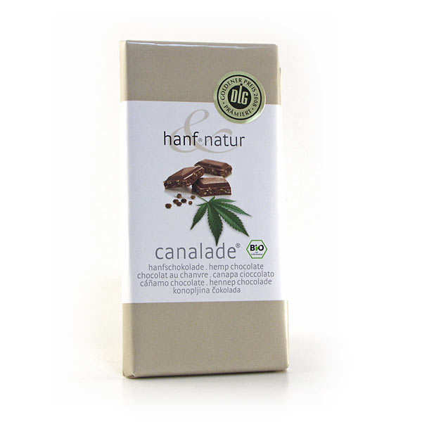 Organic hemp milk chocolate