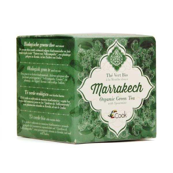 Marrakech - Thé vert à la menthe bio 15 sachets