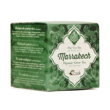 Cook - Herbier de France - Marrakech - Organic green tea with mint - 15 tea bags