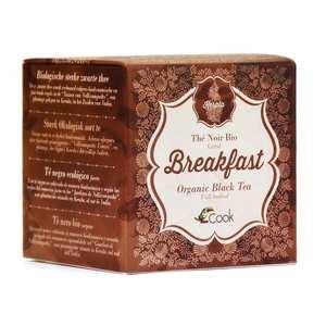 Cook - Herbier de France - Kerala - Breakfast tea - Thé noir bio Indien (commerce équitable)