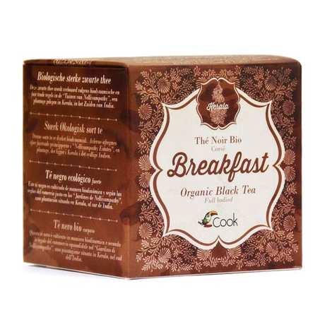 Cook - Herbier de France - Breakfast tea - Organic Indian black tea