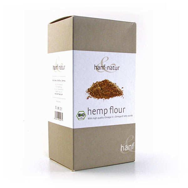 Organic hemp flour