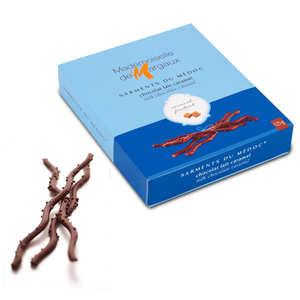 Mademoiselle de Margaux - Sarments du Médoc - milk chocolate twigs with caramel