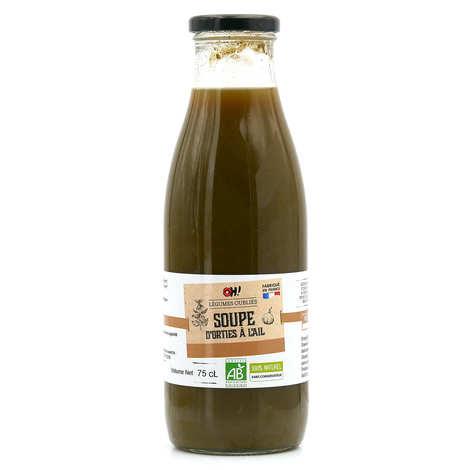 Oh ! Légumes oubliés - Soupe d'orties sauvages à l'ail bio
