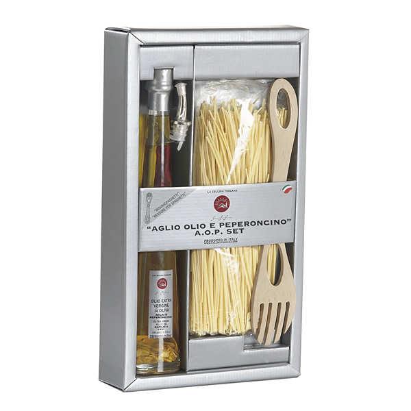 kit de cuisine italienne spaghetti la collina toscana. Black Bedroom Furniture Sets. Home Design Ideas