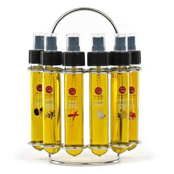 La Collina Toscana - Farandole d'huiles d'olive aromatisées italiennes en spray