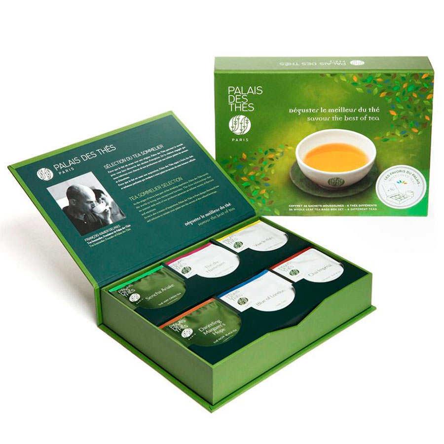 Selection of teas from Le Palais des Thés