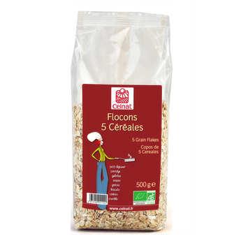 Celnat - Flocons 5 céréales bio