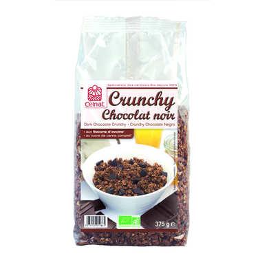 Crunchy au chocolat noir bio